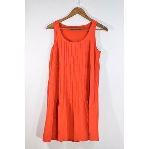 Lauren Ralph Lauren Coral Accordion Dress